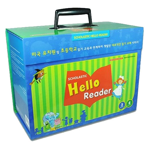 Scholastic Hello Reader Level 3 & 4 (Paperback+CD) 35종 박스 세트