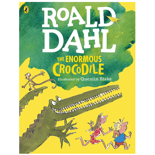 The Enormous Crocodile (Dahl Colour Editions) 큰 판형 풀컬러
