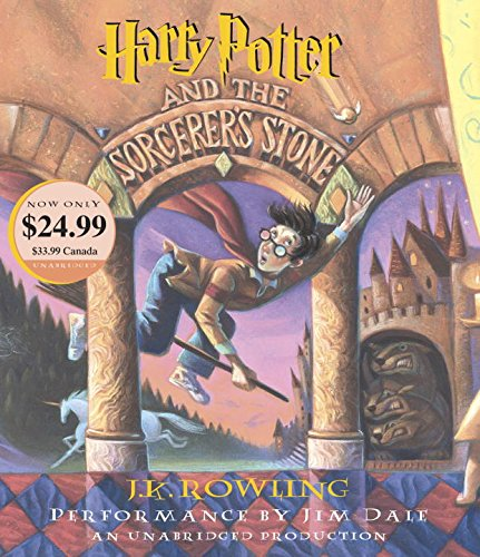 Harry Potter #1 : Harry Potter and the Sorcerer's Stone 을 읽어주는 Audio CD (7 CDs) 미국판(도서 미포함)