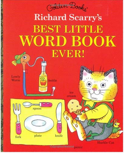 Richard Scarry's Best Little Word Book Ever (Little Golden Book)