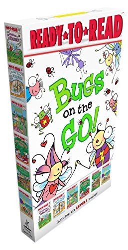 Ready-To-Read Level 1 : Bugs on the Go! 페이퍼백 6종 박스 세트