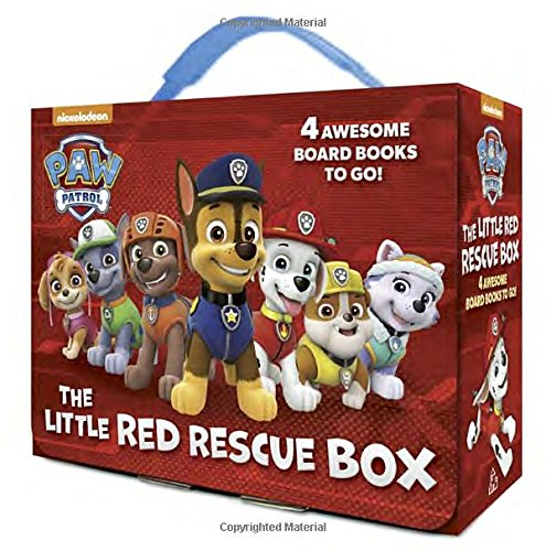 The Little Red Rescue Box (PAW Patrol) 미니보드북 4종 박스