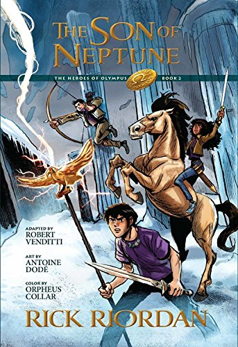 The Graphic Novel Heroes of Olympus #2 : The Son of Neptune