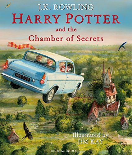Harry Potter #2 : Harry Potter and the Chamber of Secrets : Illustrated Edition