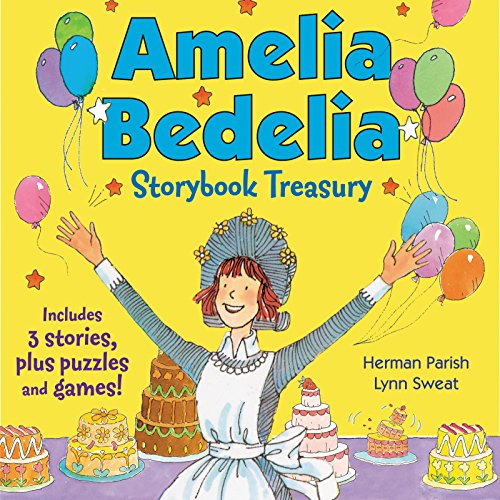 Amelia Bedelia Storybook Treasury#2  (3종합본)