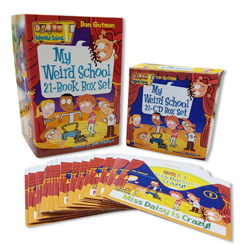 챕터북 My Weird School 21종 (Book & CD) 세트