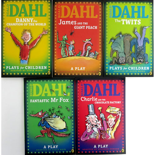 Roald Dahl's Plays for Children Collection 로알드달 페이퍼백 5종 세트