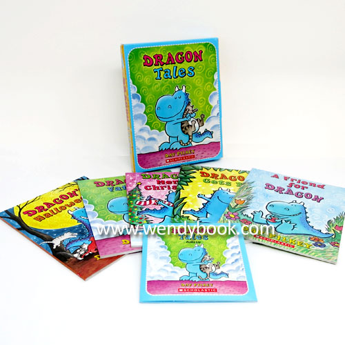 Dragon Tales Box Set (Paperback 5권 & CD 2장)