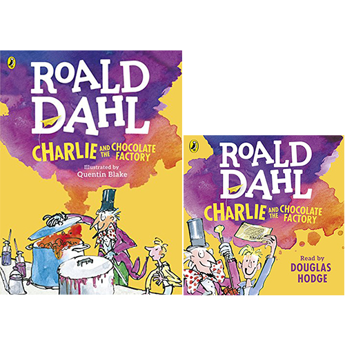 Roald Dahl : Charlie and the Chocolate Factory 컬러판 (Paperback+CD) 세트