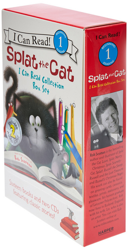 I Can Read Splat The Cat Collection Box Set (페이퍼백16권 & CD 2장)