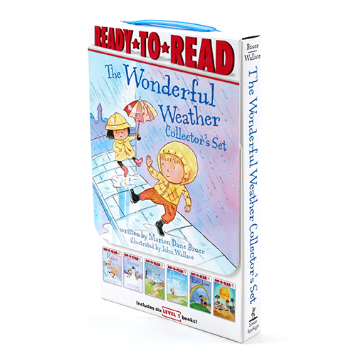 Ready-to-Read Level 1 : The Wonderful Weather 페이퍼백 6종 박스 세트