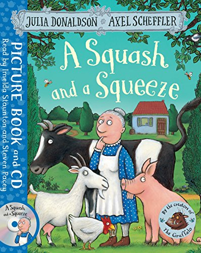 A Squash and a Squeeze (Book & CD)