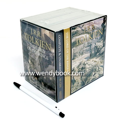 The Lord of the Rings (Complete and Unabridged Gift Set) (46 CDs) (도서 미포함)
