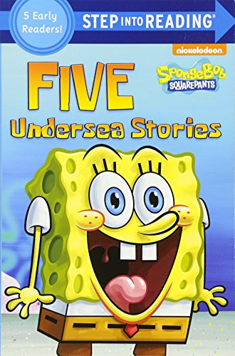 Step into Reading 2 : Five Undersea Stories (5 Early readers! SpongeBob SquarePants) 5종 합본
