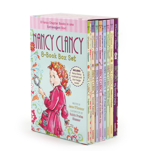 Fancy Nancy : Nancy Clancy Chapter Book 8종 페이퍼 박스 세트