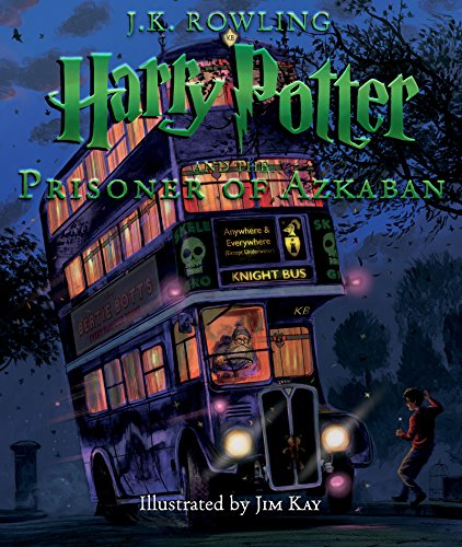 해리포터 컬러판 Harry Potter #3 : Harry Potter and the Prisoner of Azkaban: Illustrated Edition