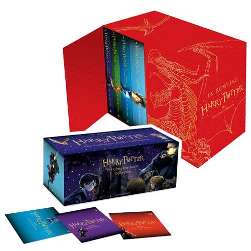 Harry Potter 영국판  #1~#7 (Hardcover & CD) Full Set
