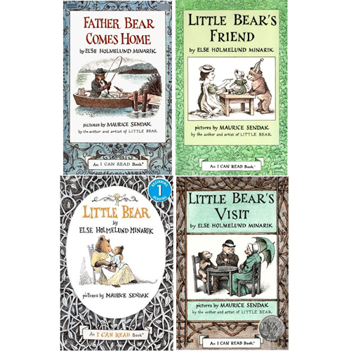 I Can Read Book Little bear 페이퍼백 4종 세트 (book only)