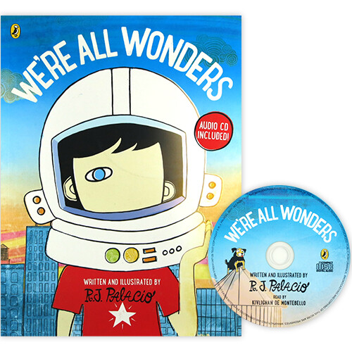 We're All Wonders (Book & CD)