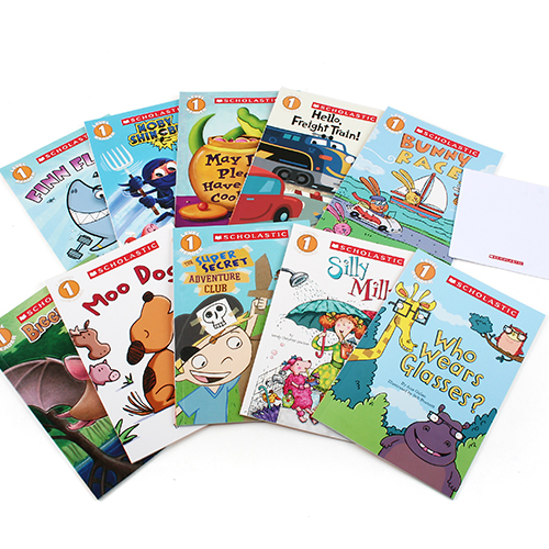 Scholastic Leveled Readers: Level 1 Collection 1 (Book&CD) 10종 세트