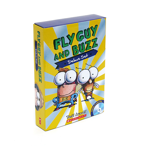 Fly Guy & Buzz Deluxe Set :  페이퍼백 15종 + 오디오 CD  박스 세트