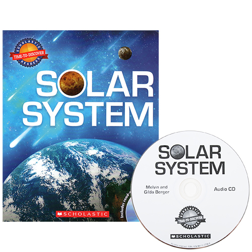 Time-To-Discover : Solar System (Book & CD) 박스 세트