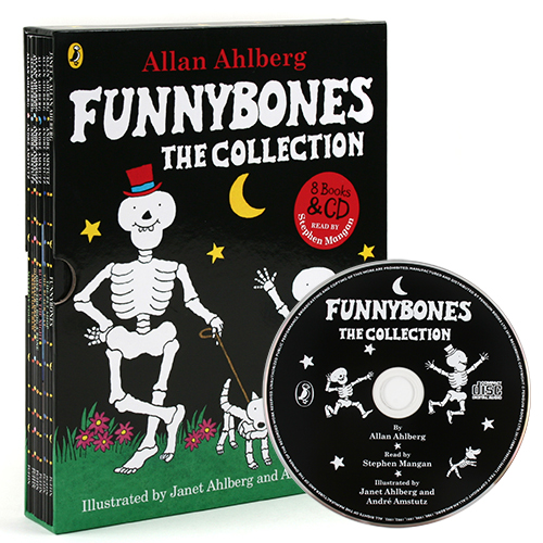 Funnybones the Collection (Book&CD) 8종 박스 세트