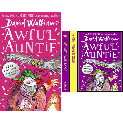 Awful Auntie  (Paperback+CD) 세트