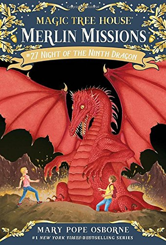 Magic Tree House Merlin Mission #27 : Night of the Ninth Dragon (구 #55편의 신판)