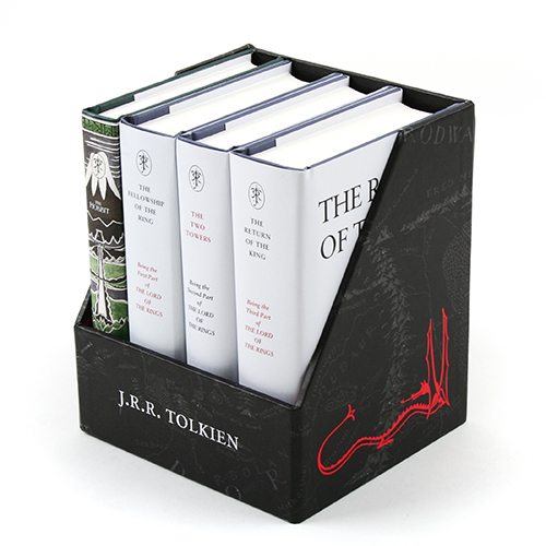 The Hobbit & The Lord of the Rings Gift Set: A Middle-earth Treasury 하드커버 4종 박스세트