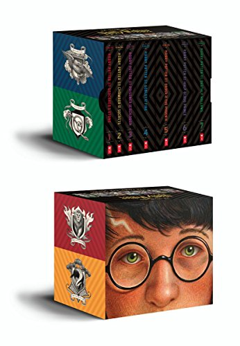 Harry Potter Books 1-7 Special Edition Boxed Set Cover and Box Illustration by Brian Selznick