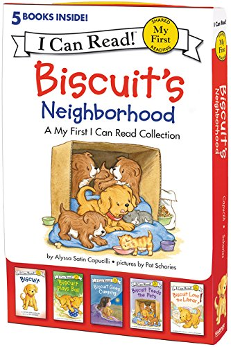 My First I Can Read : Biscuit's Neighborhood 페이퍼백 5종 박스 세트