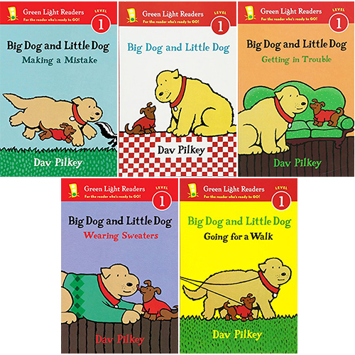 Green Light Readers Level 1 : Big Dog and Little Dog 시리즈 페이퍼백 5종 세트