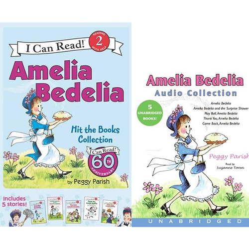 I Can Read Level 2: Amelia Bedelia 페이퍼백 5종 + Amelia Bedelia Audio CD  Collection