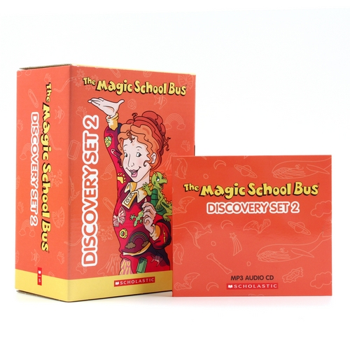 The Magic School Bus Discovery Set 2 (Paperback 10권 & MP3 CD 3장)