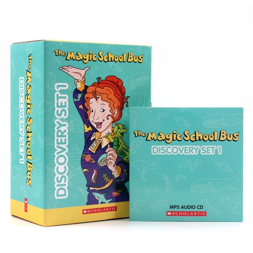 The Magic School Bus Discovery Set 1 (Paperback 10권 & MP3 CD 2장)