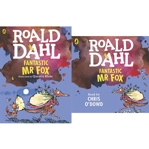 Roald Dahl : Fantastic Mr. Fox 컬러판 (Paperback+CD) 세트