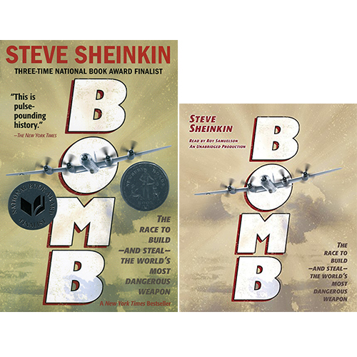 Bomb: The Race to Build--and Steal--the World's Most Dangerous Weapon (Paperback + CD) 세트
