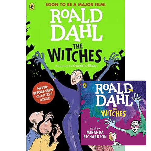 Roald Dahl : The Witches (Paperback+CD) 세트