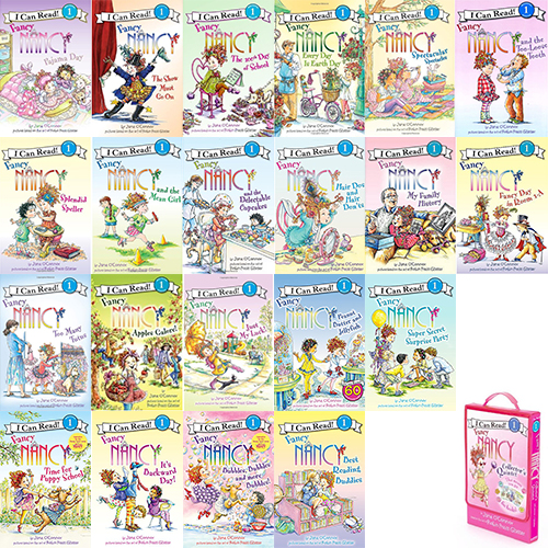Fancy Nancy I Can Read Book Level 1 페이퍼백 26종 세트