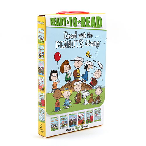 Ready-To-Read Level 2 :Read with the Peanuts Gang 페이퍼백 6종 박스세트