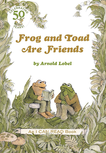 I Can Read Level 2:  Frog and Toad Are Friends