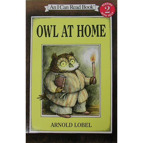 I Can Read level 2 : Owl at Home