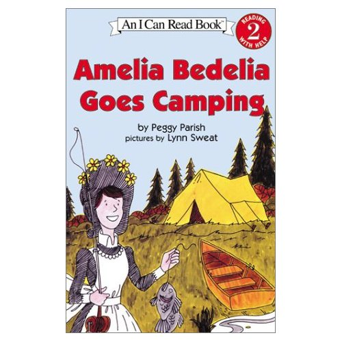 I Can Read Level 2 : Amelia Bedelia Goes Camping