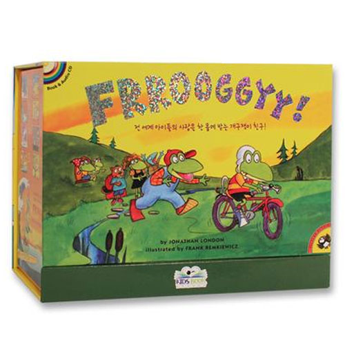 Froggy (Book & CD) 18종 세트 (2018 New Edition, 사은품 워크북 18종)