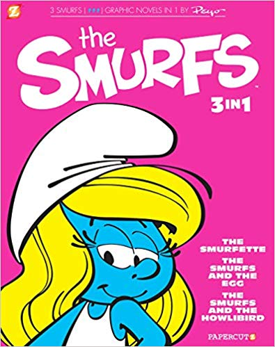 The Smurfs Graphic Novels 3-In-1 #2 3종 합본