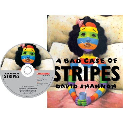 A Bad Case of Stripes (Book & CD)