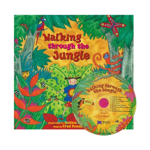 노부영 Walking Through the Jungle (원서&CD)