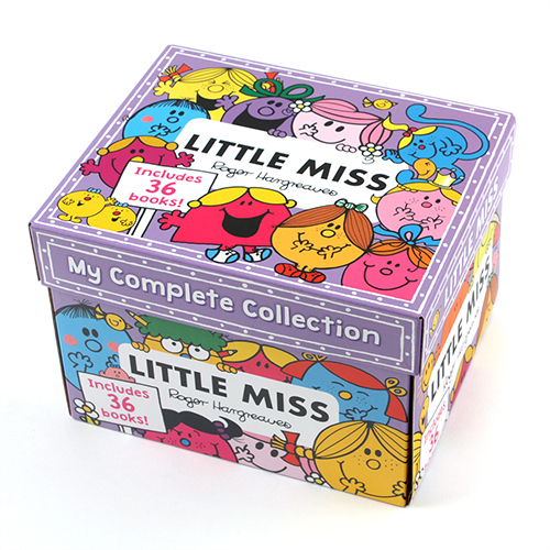 Little Miss My Complete Collection 36 Books Box Set  페이퍼백 36종 박스 세트