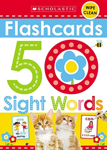 Scholastic Early Learners Flashcards - 50 Sight Words